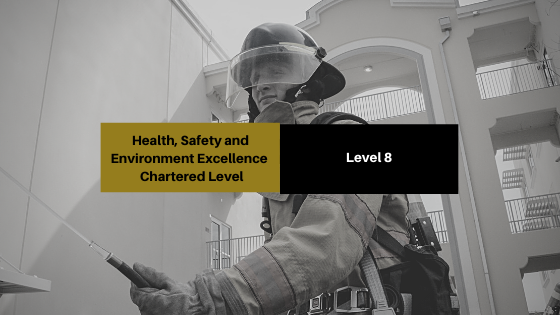 Health, Safety and Environment Excellence - Chartered Level (Level 8)