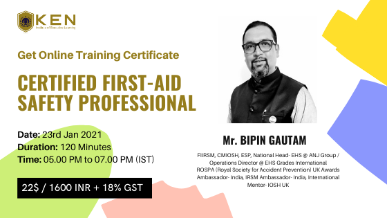 Certified First-Aid Safety Professional